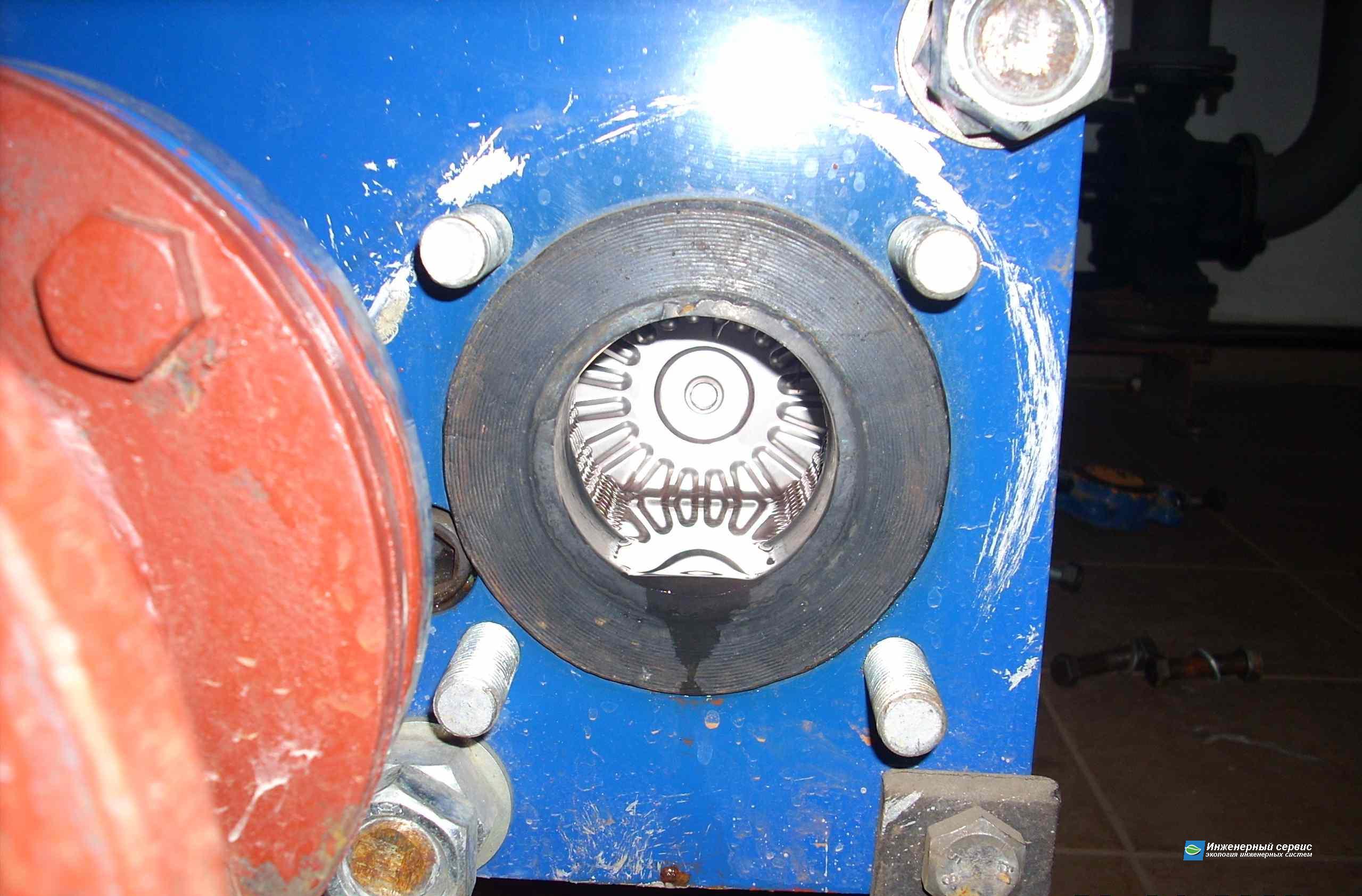 Промывка теплообменников часы теплообменник медный опрессовка